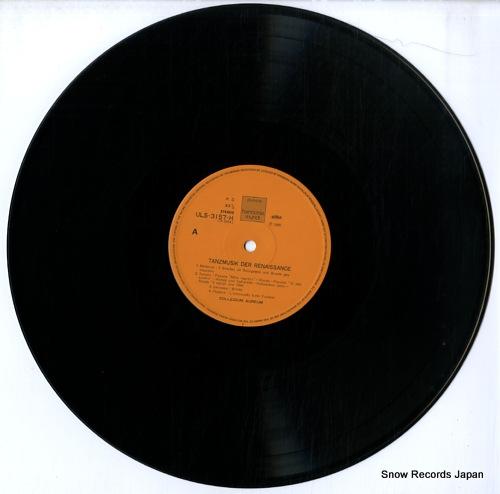 COLLEGIUM AUREUM tanzmusik der renaissance ULS-3157-H - disc