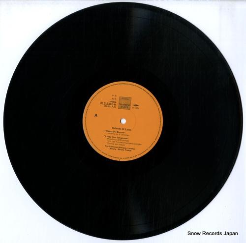 TURNER, BRUNO lasso; musica dei donum, lauda sion salvatorem ULS-3346-H - disc