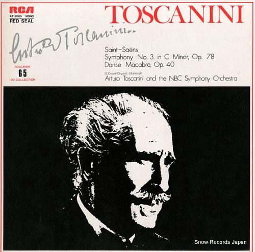 アルトゥーロ・トスカニーニ サン=サーンス:交響曲第3番/交響詩「死の舞踏」 AT-1065