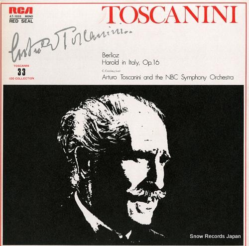 アルトゥーロ・トスカニーニ ベルリオーズ:交響曲「イタリアのハロルド」作品16 AT-1033
