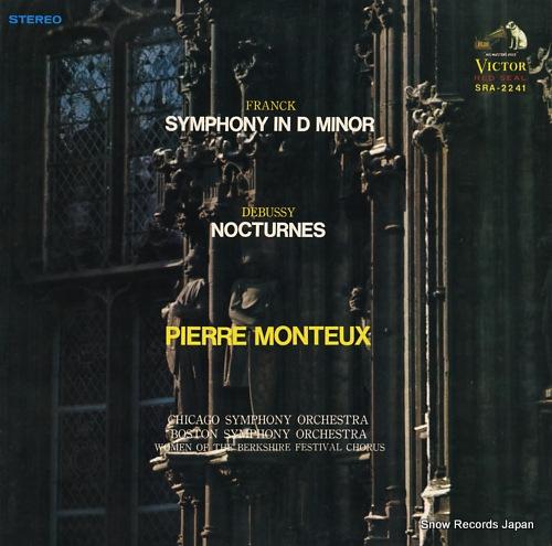 ピエール・モントゥー フランク:交響曲第5番 SRA-2241