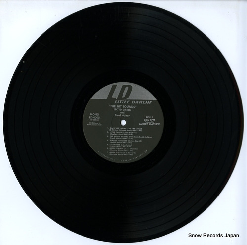 GREEN, LLOYD the hit sounds(lloyd green & ahis steel guitar) LD4005 - disc