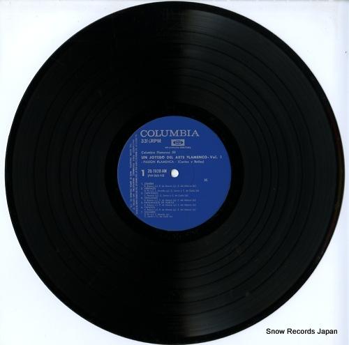 V/A un joyero del arte flamenco vol.a / pasion flamenca ZQ-7020-AM - disc