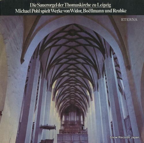 POHL, MICHAEL die sauerorgel der thomaskirche zu leipzig 827659 - front cover