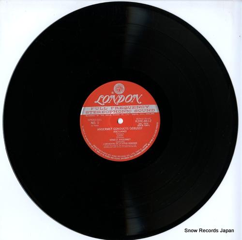 ANSERMET, ERNEST debussy; la mer / nocturnes K20C-8612 - disc