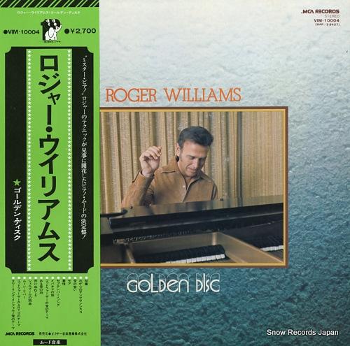 WILLIAMS, ROGER golden disc VIM-10004 - front cover