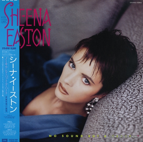 EASTON, SHEENA no sound but a heart EYS-91191 - front cover