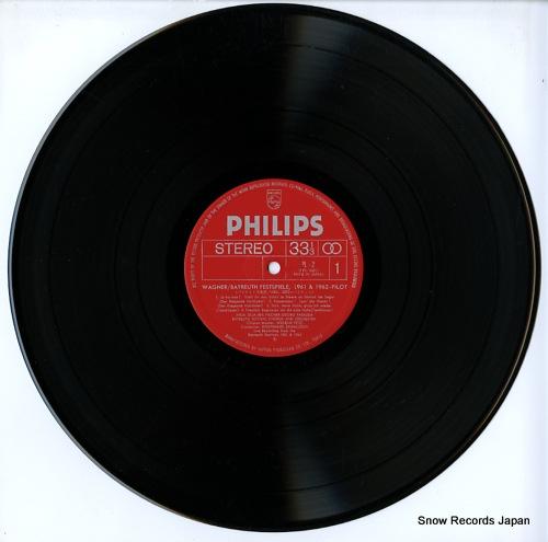 KNAPPERTSBUSCH, HANS / WOLFGANG SAWALLISCH wagner; der fliegende hollander PL-2 - disc