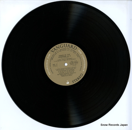 DAVRATH, NETANIA song of the auvergne arr.canteloube part2 K18C9292 - disc