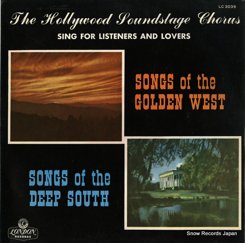 HOLLYWOOD SOUNDSTAGE CHORUS, THE sing for listeners and lovers LC3039 - front cover