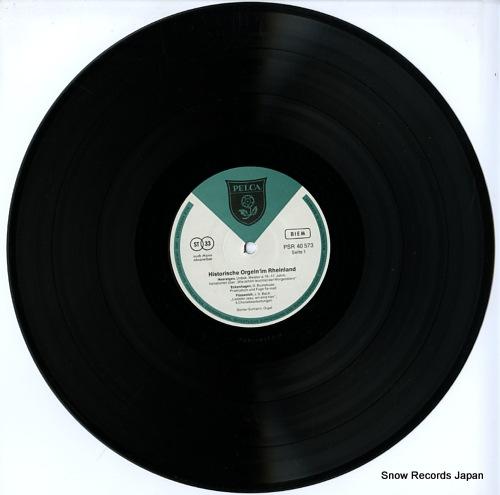 NEUMANN, GUNTER historische orgeln im rheinland PSR40573 - disc