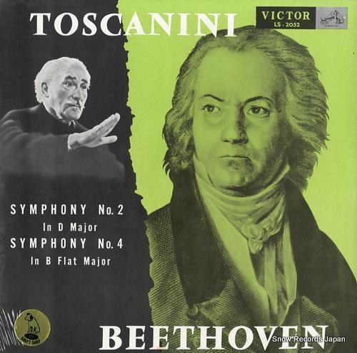 アルトゥーロ・トスカニーニ ベートーヴェン:交響曲第2番、第4番 LS-2052
