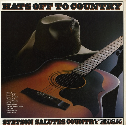 V/A hats off to country P15639 - front cover