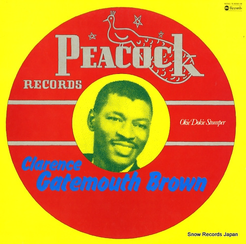 BROWN, CLARENCE GATEMOUTH okie dokie stomper YS-8058-AB - front cover