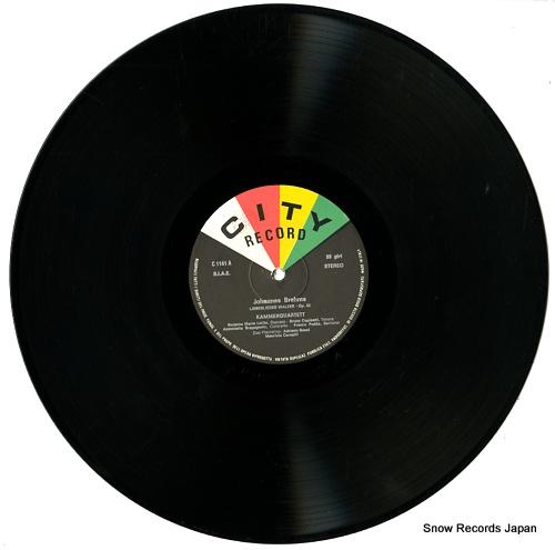 KAMMERQUARTET brahms; liebeslieder walzer op.52 C1141 - disc
