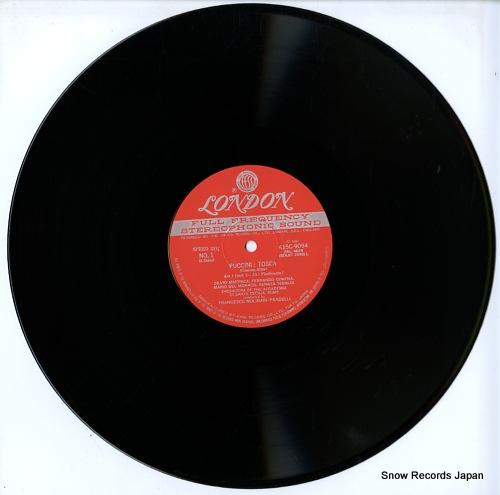 MOLINARI - PRADELLI, FRANCESCO puccini; tosca(complete recording) K15C-9094/5 - disc
