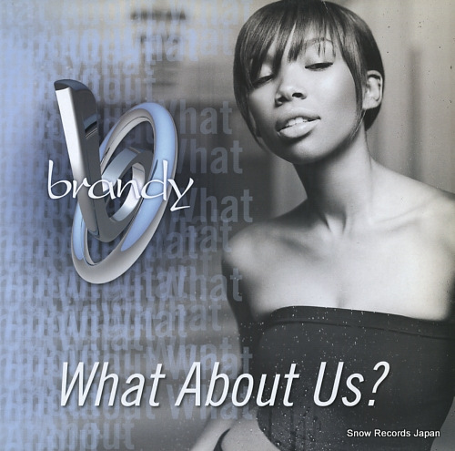 BRANDY what about us? 7567-85243-0 - front cover