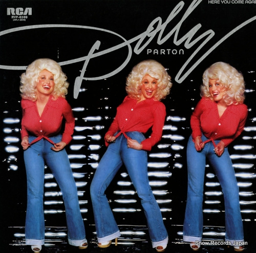 PARTON, DOLLY here you come again RVP-6269 - front cover