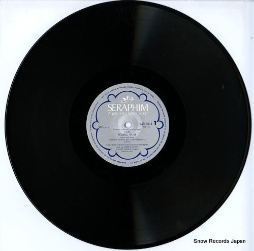 CLUYTENS, ANDRE faure; requiem, op.48 EAB-5014 - disc