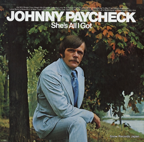 PAYCHECK, JOHNNY she's all i got E31141 - front cover