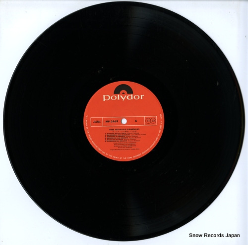 V/A tres estrellas flamencas MP2469 - disc
