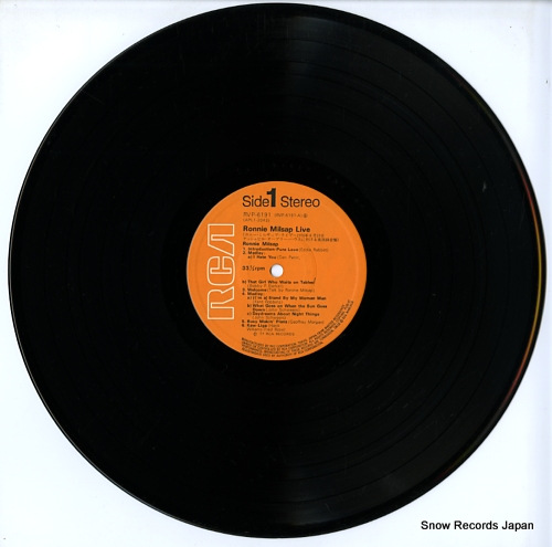 MILSAP, RONNIE live RVP-6191 - disc