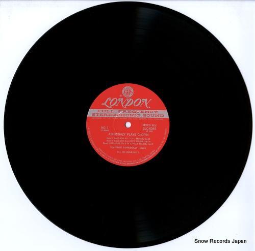 ASHKENAZY, VLADIMIR chopin; ballades nos.1,2,3&4 SLC6045 - disc