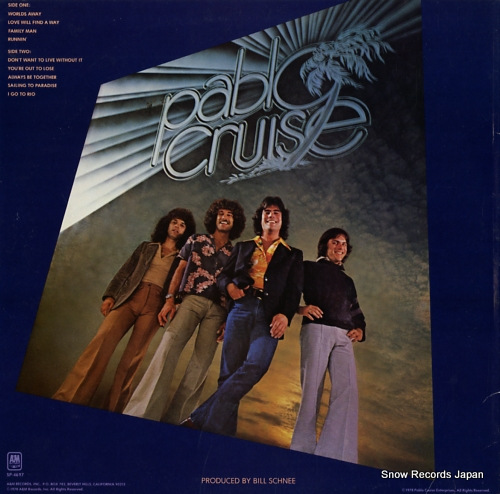 PABLO CRUISE worlds away SP-4697 - back cover