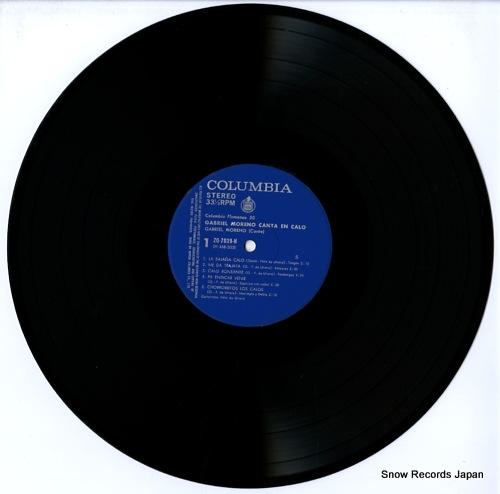 MORENO, GABRIEL gabriel moreno canta en calo ZQ-7039-H - disc