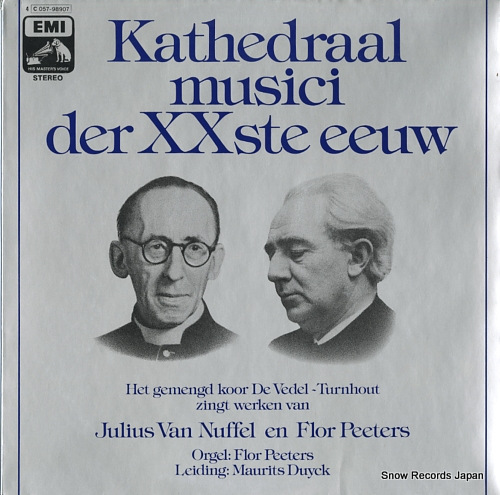 DUYCK, MAURITS kathedraal musici der xxste eeuw C057-98907 - front cover