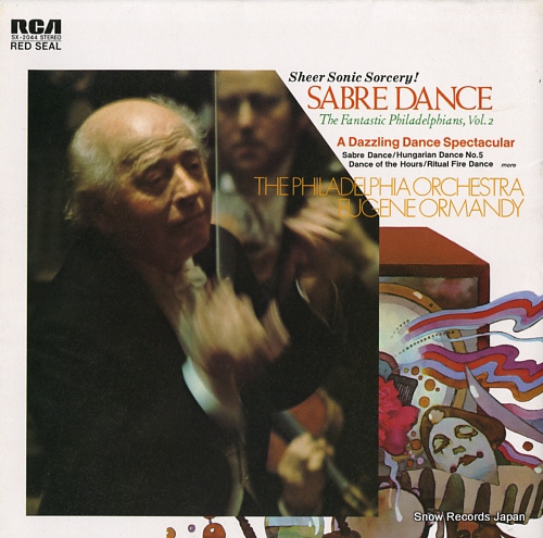 ORMANDY, EUGENE khachaturian; sabre dance / the fantastic philadelphians, vol.2 SX-2044 - front cover