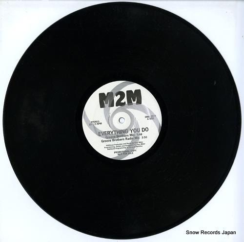 M2M everything you do DMD2577 - disc