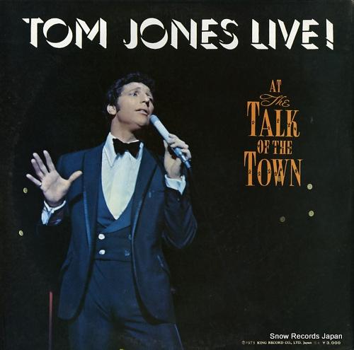 JONES, TOM live in las vegas SL230-1 - back cover