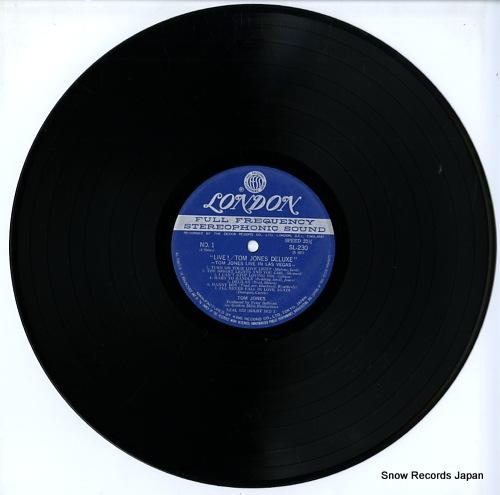 JONES, TOM live in las vegas SL230-1 - disc