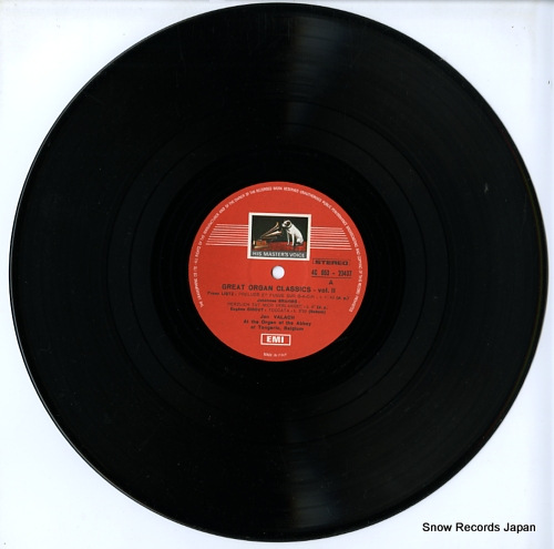VALACH, JAN great organ classics vol.ii 4C053-23437 - disc