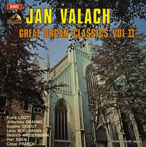 VALACH, JAN great organ classics vol.ii 4C053-23437 - front cover