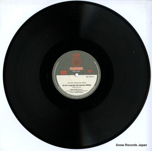 EHMANN, WILHELM bach; ich bin vergnugt mit meinem glucke / ich geh und suche mit verlangen 641212 - disc