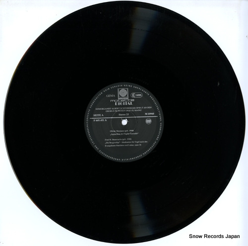 V/A messiaen/vierne; die orgeln im hohen dom zu mainz M10960 - disc