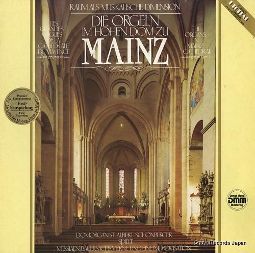 V/A messiaen/vierne; die orgeln im hohen dom zu mainz M10960 - front cover