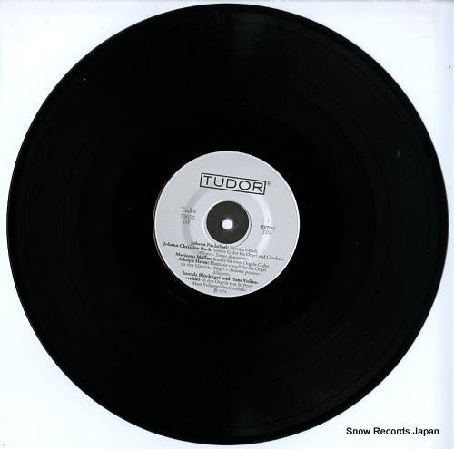 BLOCHLIGER, IMELDA / HANS VOLLENWEIDER seltene orgel-& cembalomusik aus der klosterkirche zu st.peter im schwarzwald TUDOR73020 - disc