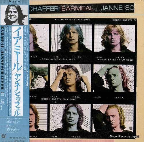 SCHAFFER, JANNE earmeal 25.3P-93 - front cover