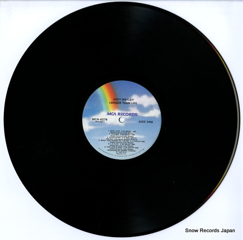 WATLEY , JODY larger than life MCA-6276 - disc