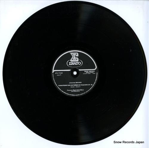DUCHABLE, FRANCOIS-RENE brahms; variations sur un theme de paganini op.35 STU71401 - disc