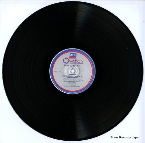 PRIEST, ANITA / GEORGE MALCOLM saint-saens; organ symphony 417605-1 - disc