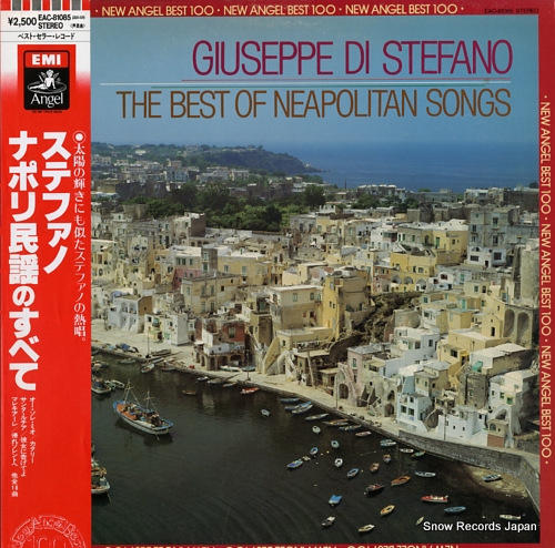 STEFANO, GIUSEPPE DI the best of neapolitan songs EAC-81085 - front cover