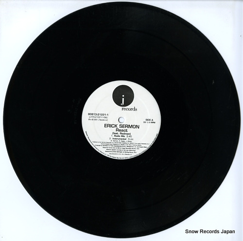 SERMAN, ERICK react 80813-21221-1 - disc