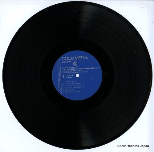 CARACOL, MANOLO / MELCHOR DE MARCHENA una histria del cante flamenco vol.2 ZQ-7019-H - disc