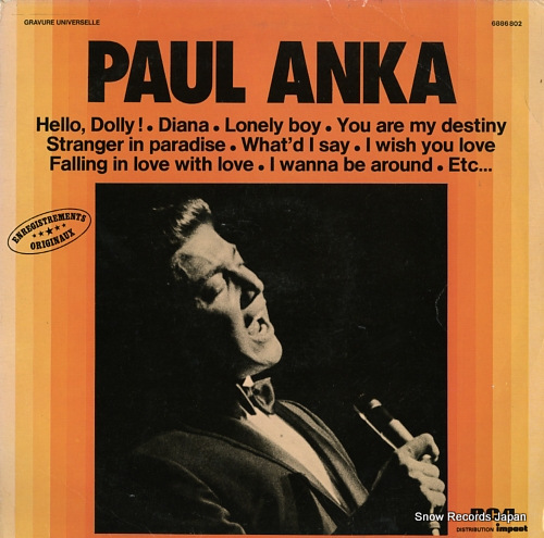 ANKA, PAUL live in new york 6886802 - front cover
