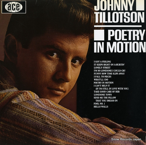 TILLOTSON, JOHNNY poetry in motion CH74 - front cover