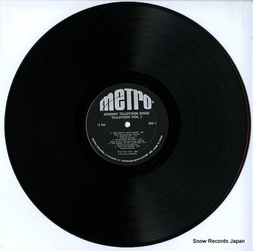 TILLOTSON, JOHNNY johnny tillotson sings tillotson vol.1 M-561 - disc